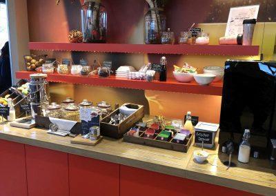Frühstücksbuffet ibis Hotel Würzburg City © Trendlupe